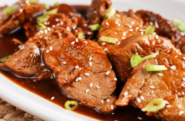 cerdo teriyaki receta
