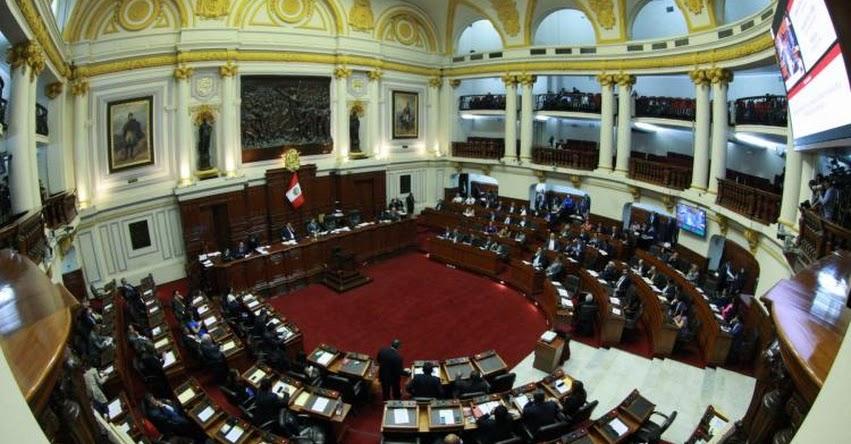 Congreso de la República inicia sesión plenaria para debatir admisión de vacancia presidencial