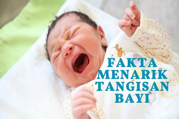 Bagi Bunda yang Belum Tahu, ini 4 Fakta Menarik Seputar Tangisan Bayi