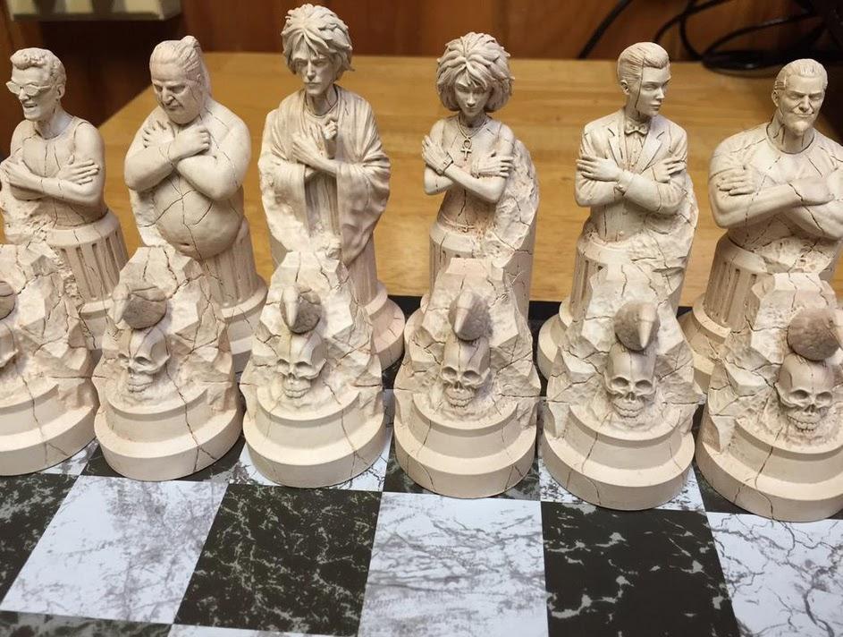 Famous Sandman Chess Set | Paul Harding Studios KE68