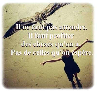 Citation attendre en photo