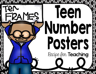 https://www.teacherspayteachers.com/Product/Teen-Number-Posters-2181666