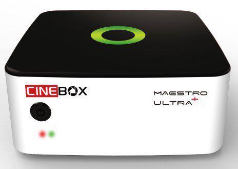 CINEBOX MAESTRO + ULTRA ATUALIZAÇÃO V1.21 - 19/08/2017