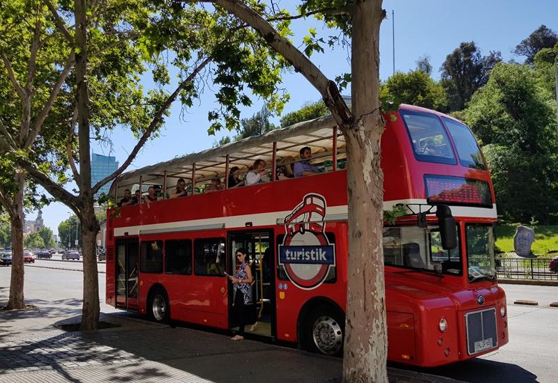 Roteiro no Ônibus turístico de Santiago: Hop On Hop Off Turistik