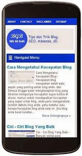 kecepatan blog indonesia