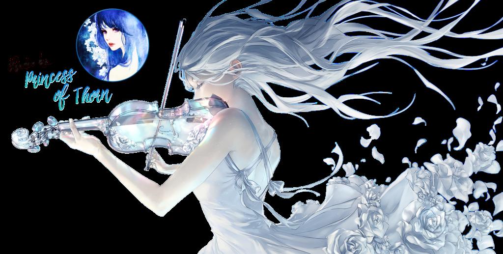 render chica con el violín