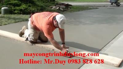 Kết quả khi xoa nền bê tông siêu phẳng đẹp