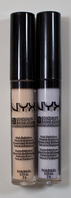 NYX HD Photogenic Concealer Wand in Fair & Lavender : Swatches & Review