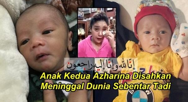Salam Takziah Buat Azharina Dan Sekeluarga Atas Pemergian Anak Keduanya