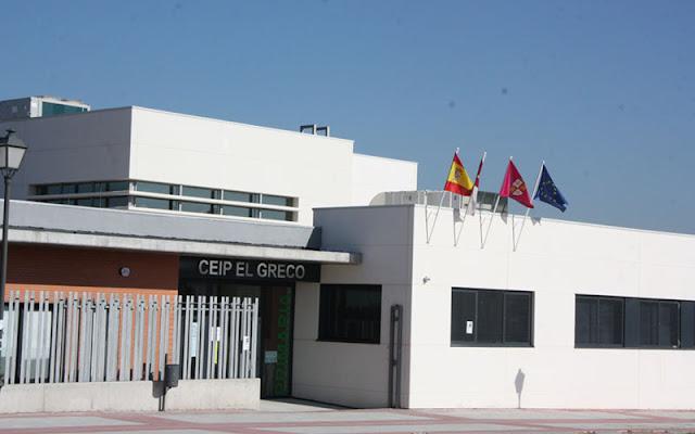 Fachada del colegio EL Greco en El Señorio de Illescas. IMAGEN COMUNICACION ILLESCAS