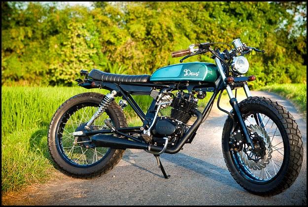 Honda CB100 Modifikasi
