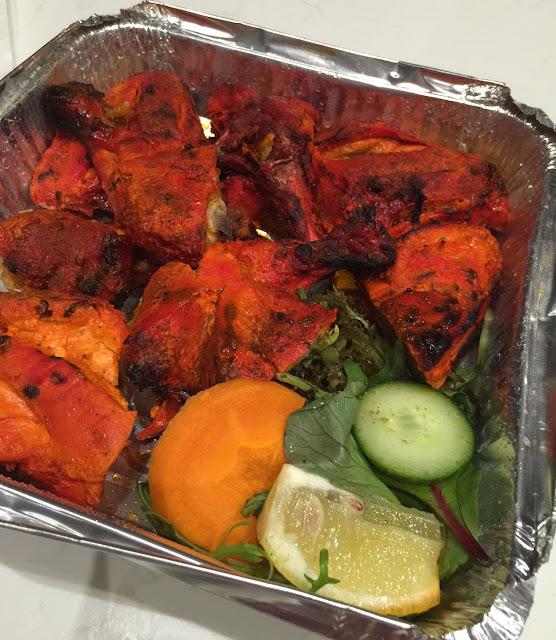 Saffron House, tandoori chicken