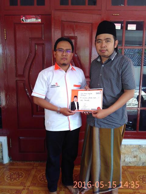Direktur Lazismu Jember bersama Gus Muhammad Fawaid, SE, M.Sc
