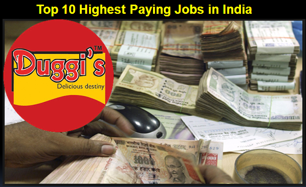 Duggis Jobs: Top 10 Highest Paying Jobs In India