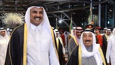 تميم وامير الكويت