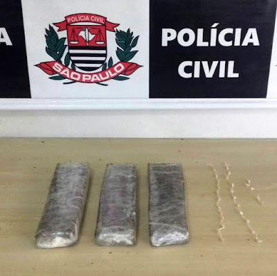 DISE DE REGISTRO PRENDE TRAFICANTE COM DROGAS EM JUQUIÁ