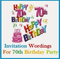 sample invitation wordings blogger