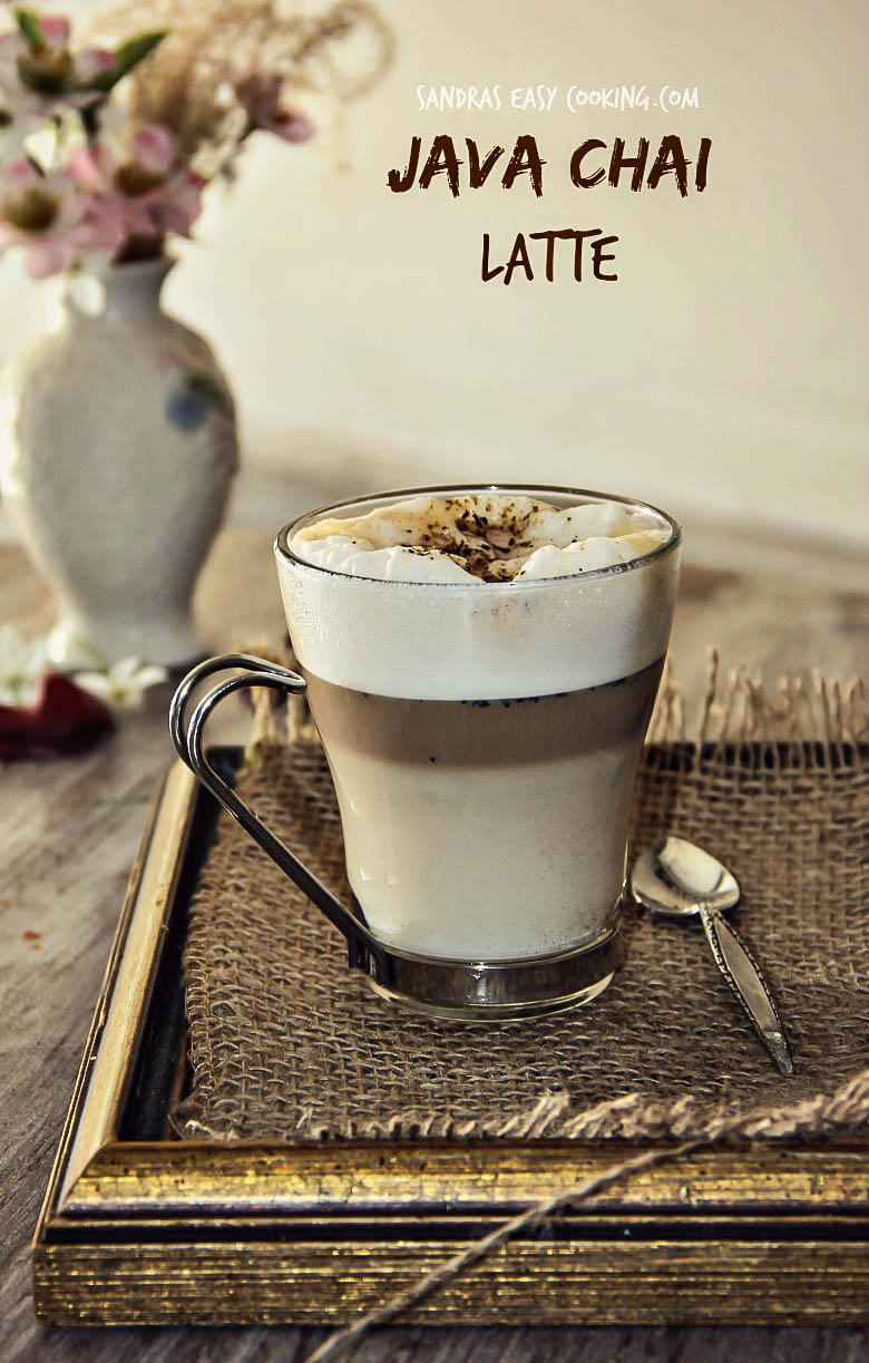 Java Chai Latte #homemade #recipe