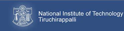 NIT Tiruchirappalli Recruitment 2017