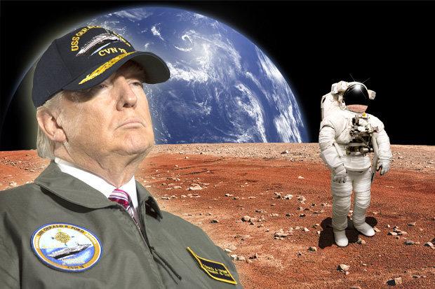 «Απόβαση» στον Άρη ετοιμάζει ο Τραμπ!