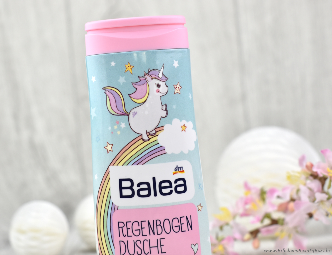 Einhorn Hype - Balea Regenbogendusche - Unicorn