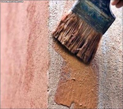 pintura com pincel