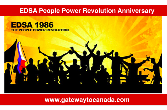 EDSA People Power Revolution Anniversary