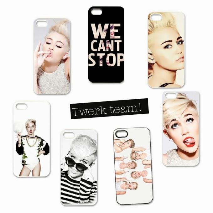 #iPhone #case #girls #twerk #MileyCyrus #cell phones