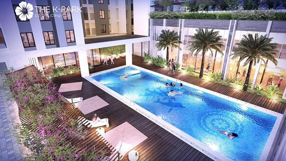 Bể bơi K-Pool ngoài trời cao cấp