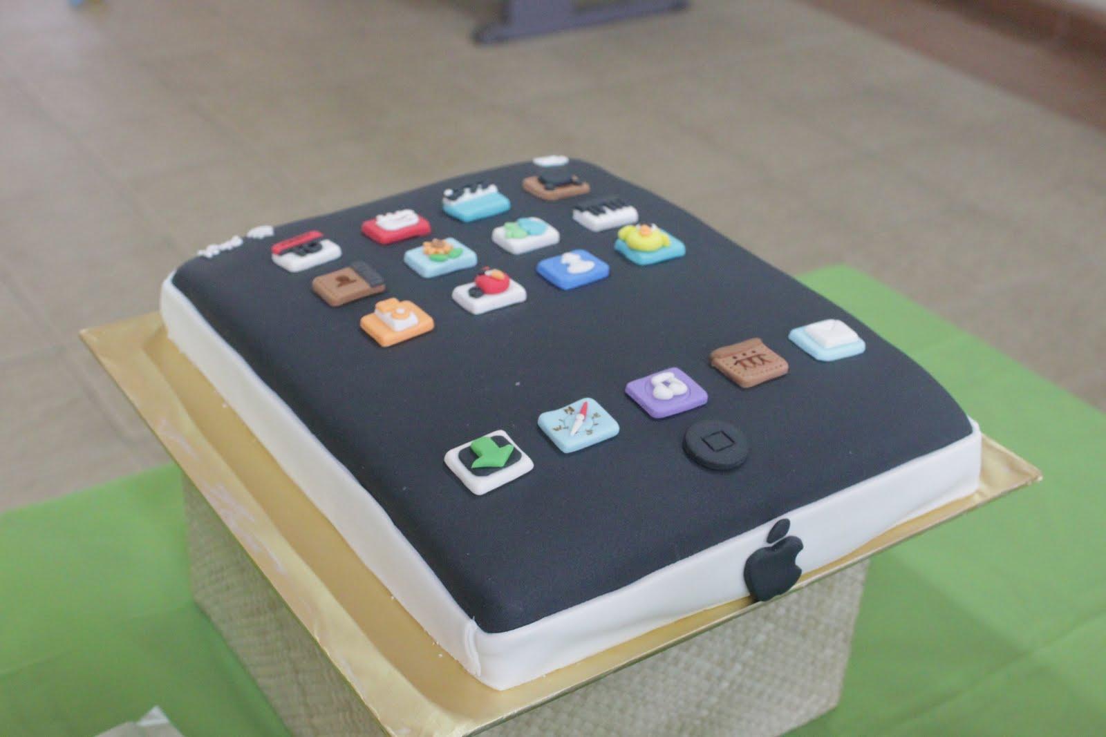 Comelicious Ipad Cake