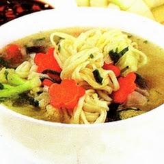 Image result for Sup Mi Gelung jamur merang
