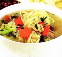 Resep Masakan Sup Mie Gelung