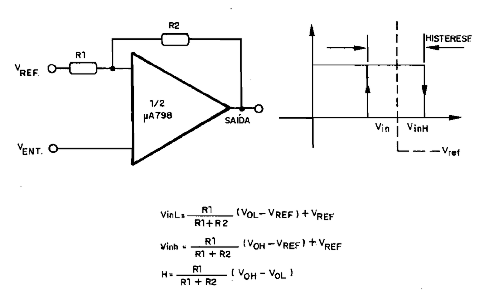 Eletronica Geral Comparador Com Histerese