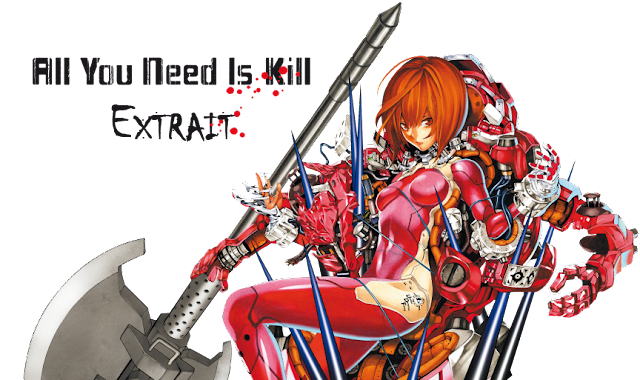 Lire un extrait du manga All You Need Is Kill