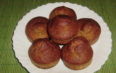 Muffins with banana