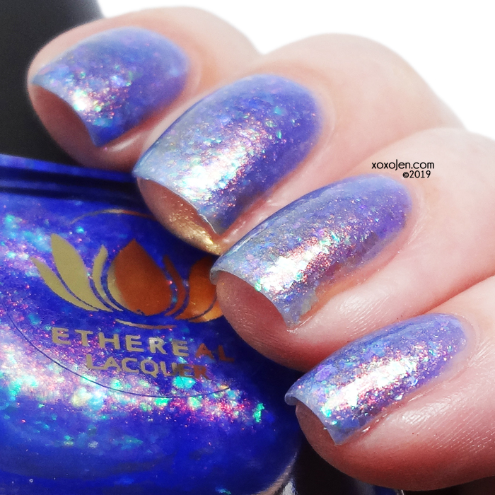 xoxoJen's swatch of Ethereal Lacquer Enchanted Grotto