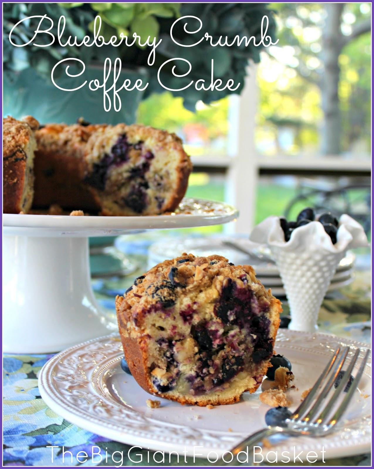 Big Crumb Blueberry Coffee Cake