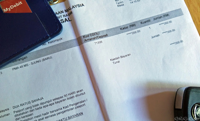Bayaran Harga Dan Cara Buat Pasport Antarabangsa