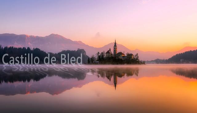 GIMP: Texto Castillo de Bled