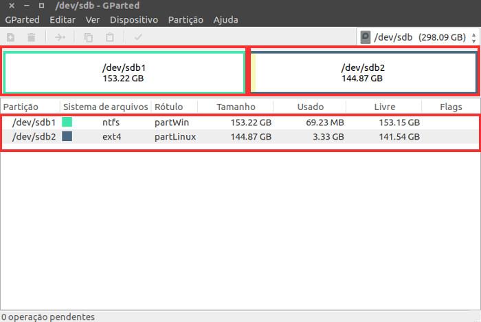 hd externo montado no linux ubuntu
