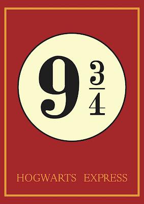 poster plataforma nove tres quartos