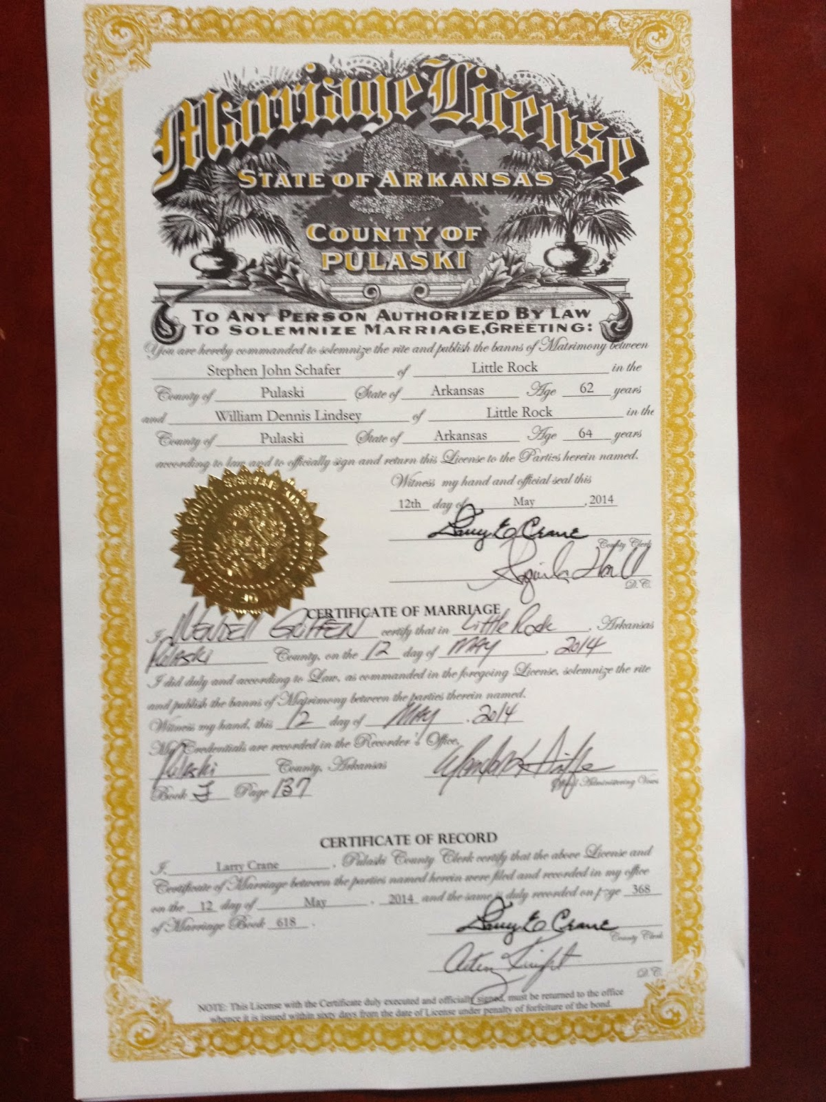 Marriage License In Rock Island County