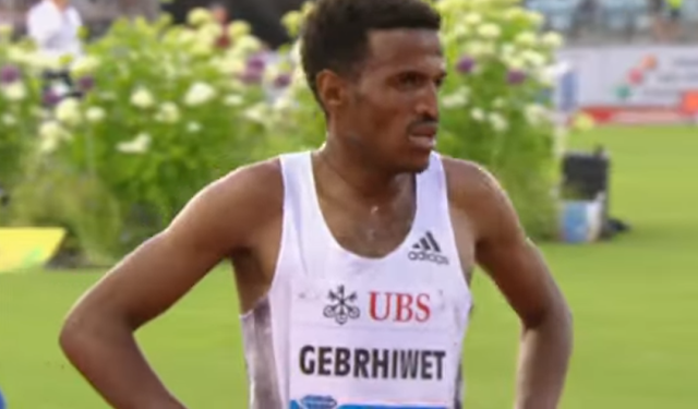 Hagos Gebrhiwet stunned after losing 5000 meters at Lausanne by miscounting laps