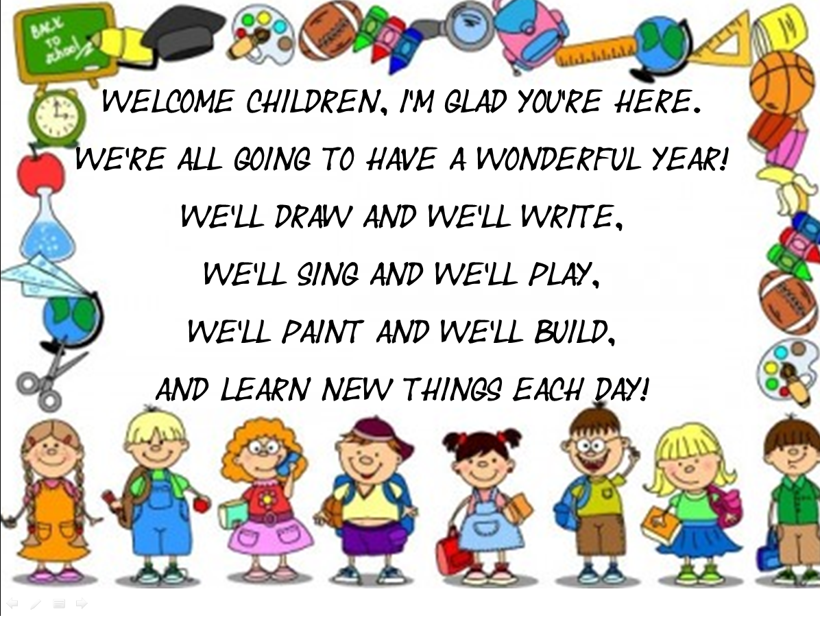 Join And Enjoy English Welcome Back To School