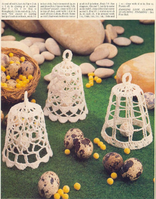 Cloches au crochet
