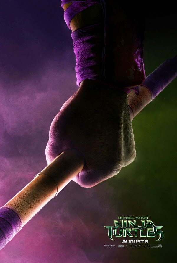 Donatello teaser poster Teenage Mutant Ninja Turtles