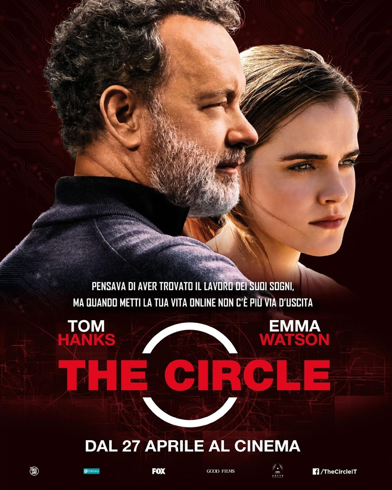 The Circle (2017) Emma Watson, Tom Hanks
