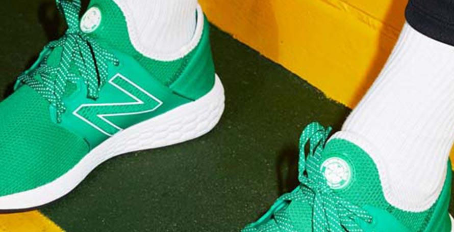 New Balance Cruz Celtic Sneaker Revealed - Footy Headlines