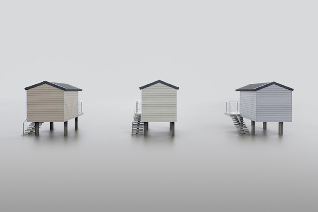 """Huts"" por Neil Burnell 