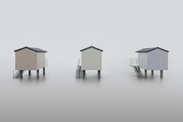 """""""Huts"""" por Neil Burnell"""